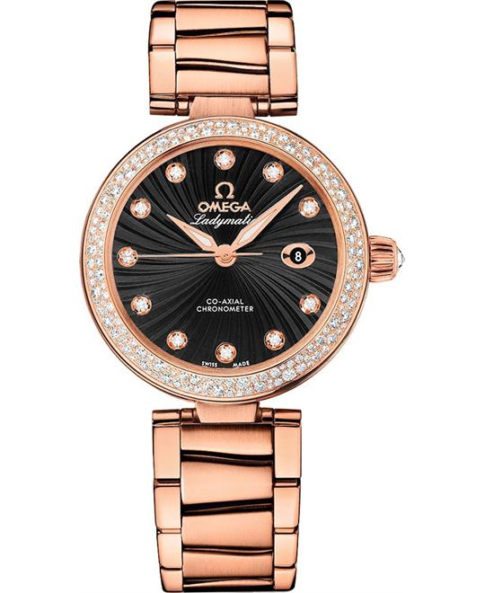 De Ville 425.65.34.20.51.001 Ladymatic Watch 34mm