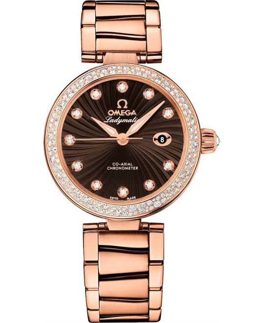 Omega De Ville 425.65.34.20.63.002 Ladymatic 34mm
