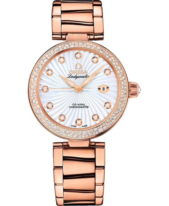 Omega 425.65.34.20.55.003 De Ville Ladymatic Watch 34mm