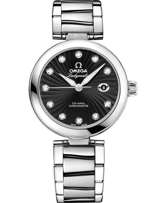 Omega 425.30.34.20.51.001 De Ville Ladymatic 34mm
