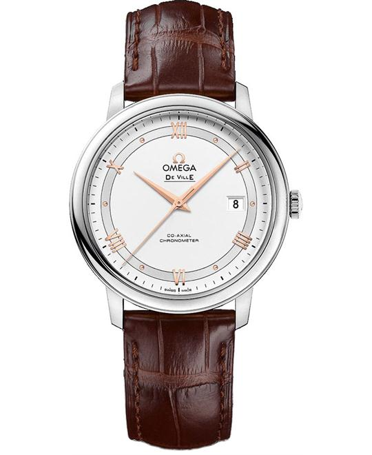 OMEGA 424.13.40.20.02.002 De Ville Prestige Watch 39.5mm