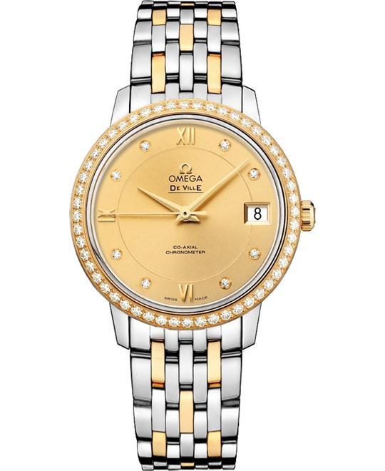 đồng hồ nữ Omega De Ville Prestige 424.25.33.20.58.001 Watch 32.7mm