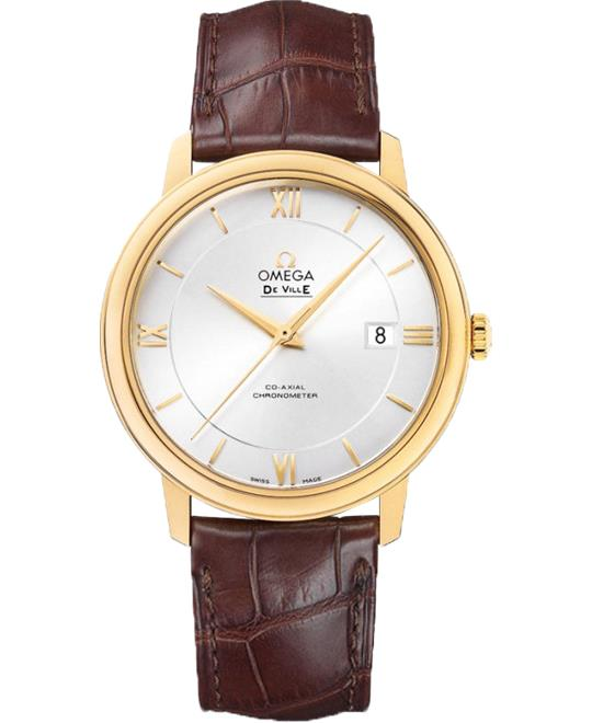 Omega De Ville Prestige 424.53.40.20.02.002 Watch 39.5mm
