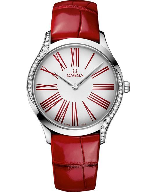 đồng hồ nữ sang trọng Omega De Ville Trésor 428.18.36.60.04.002 Quartz 36mm