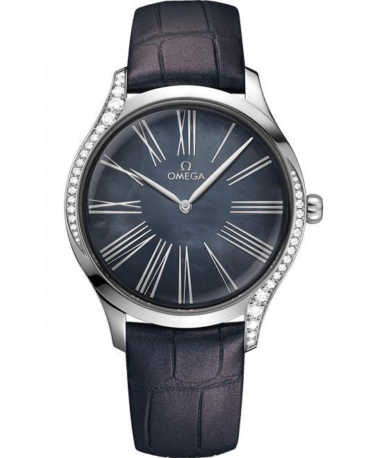 đồng hồ nữ sang trong Omega De Ville Trésor 428.18.39.60.07.001 Quartz 39mm