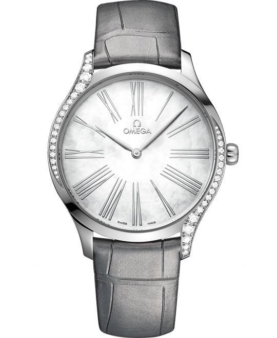 đồng hồ nữ sang trọng Omega De Ville Trésor 428.18.39.60.05.001 Quartz 39mm