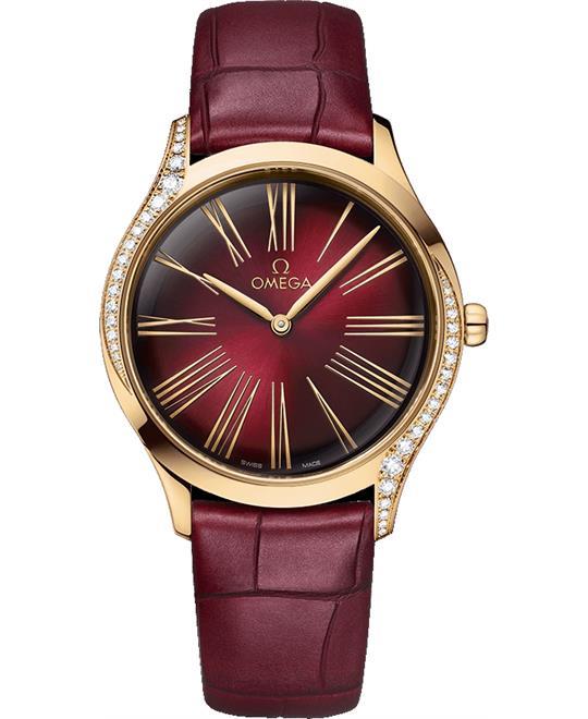 đồng hồ nữ sang trong Omega De Ville Trésor 428.58.36.60.11.001 Quartz 36mm