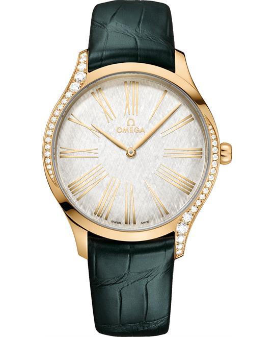 đồng hồ nữ sang trọng Omega De Ville Trésor 428.58.39.60.02.001 Quartz 39mm