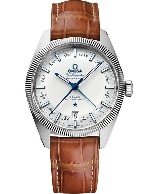 đồng hồ nam automatic Omega Globemaster 130.33.41.22.02.001 Co‑Axial Master 41
