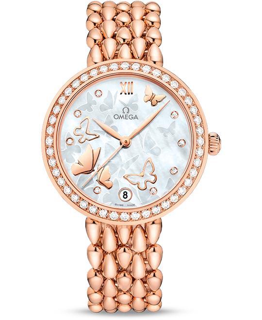 OMEGA 424.55.33.20.55.006 De Ville Prestige Watch 32.7mm