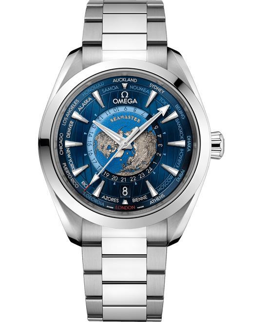 Omega Seamaster 220.10.43.22.03.001 Aqua-Terra Worldtimer 43
