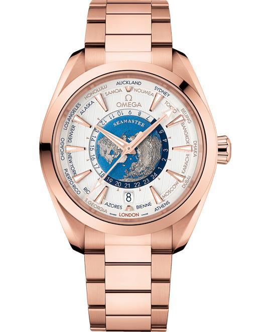 Omega Seamaster 2220.50.43.22.02.001 Aqua-Terra Worldtimer 43 mm