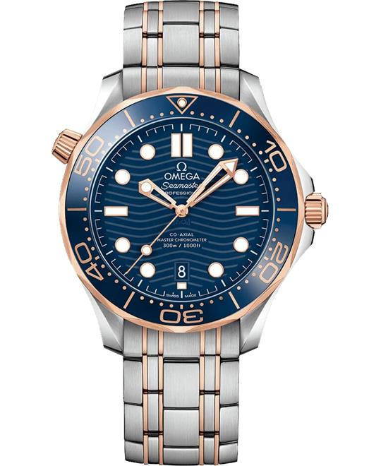 đồng hồ Omega Seamaster Diver 300m 210.20.42.20.03.002 Co‑Axial 42