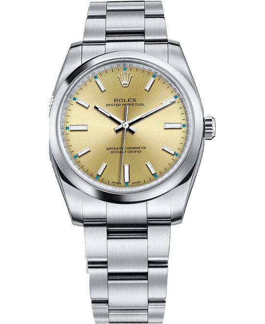 ROLEX OYSTER PERPETUAL 114200-0022 WATCH 34
