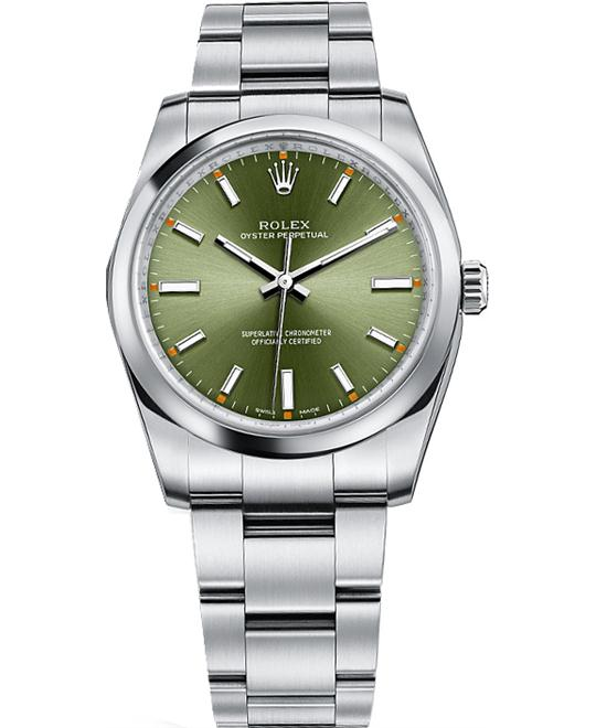 ROLEX OYSTER PERPETUAL 114200-0021 WATCH 34