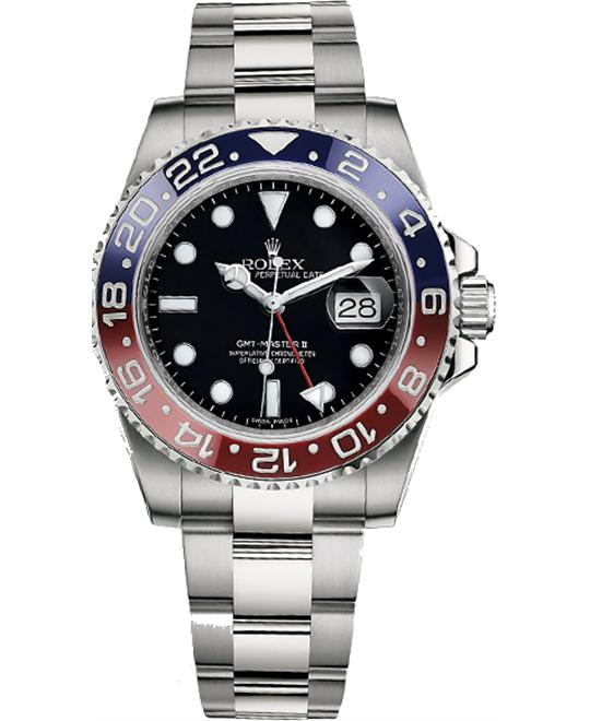 dong ho OYSTER PERPETUAL 116719BLRO GMT-MASTER II 40