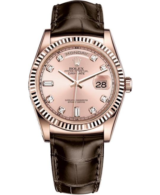 ROLEX OYSTER PERPETUAL 118135-0062 WATCH 36