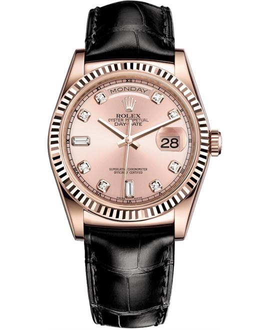 ROLEX OYSTER PERPETUAL 118135-0065 WATCH 36