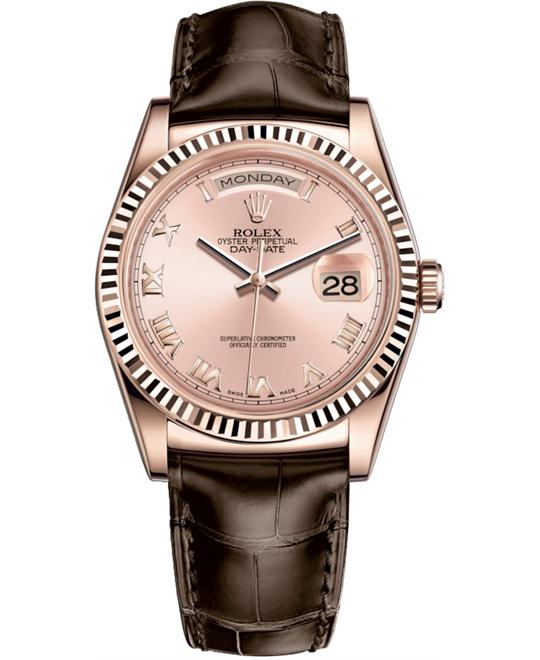 ROLEX OYSTER PERPETUAL 118135-0067 WATCH 36