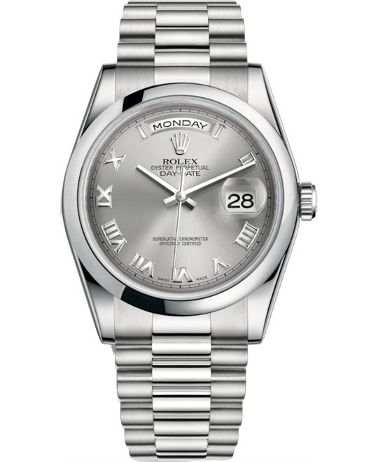 ROLEX OYSTER PERPETUAL 118206-0033 WATCH 36