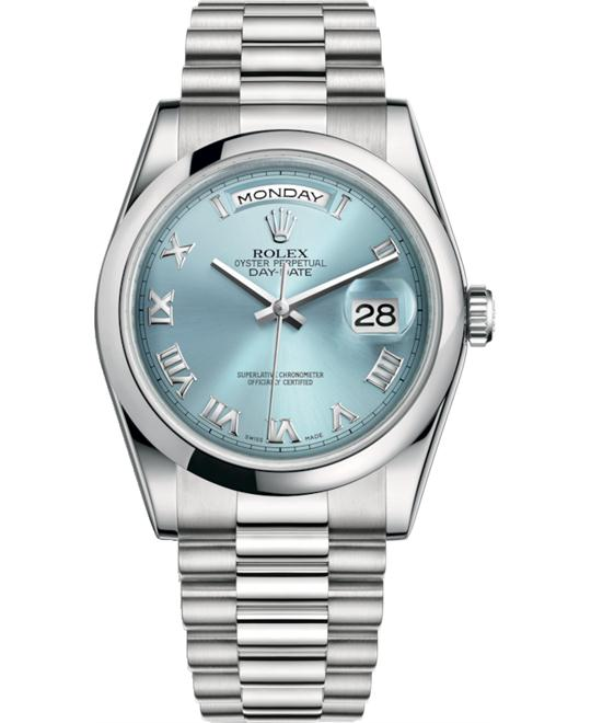 ROLEX OYSTER PERPETUAL 118206-0035 WATCH 36