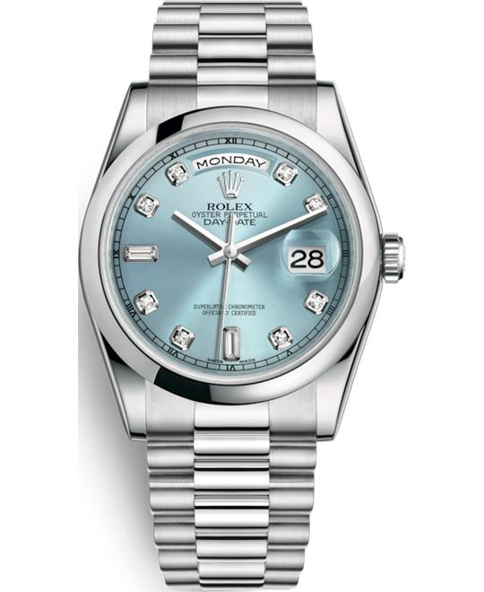 OYSTER PERPETUAL 118206-0036 DAY-DATE 36