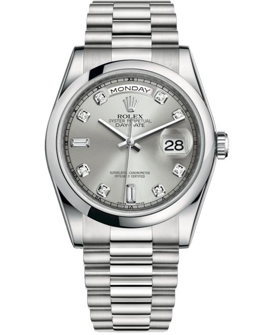 ROLEX OYSTER PERPETUAL118206-0037 WATCH 36