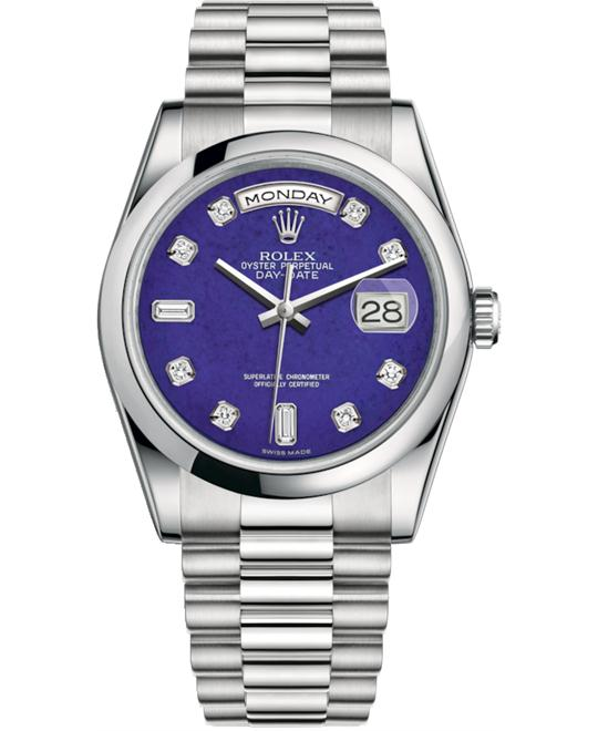 ROLEX OYSTER PERPETUAL118206-0118 DAY-DATE 36