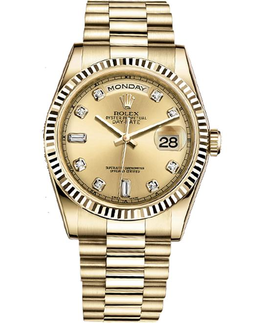 ROLEX OYSTER PERPETUAL 118238-011 WATCH 36