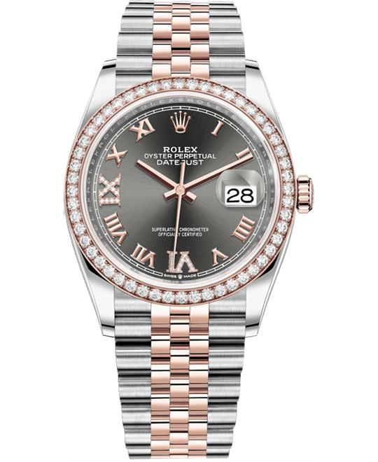 ROLEX OYSTER PERPETUAL 126281RBR-0011 WATCH 36