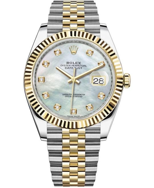 dong ho OYSTER PERPETUAL 126333-0018 DATEJUST 41