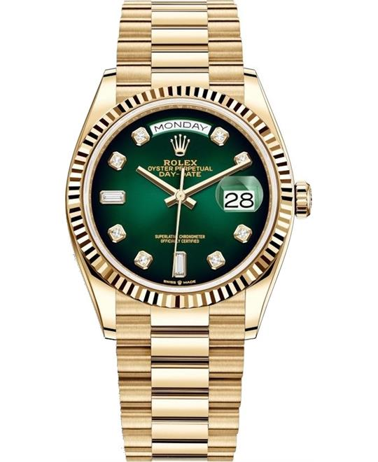 DONG HO NAM ROLEX OYSTER PERPETUAL 128238-0069 DAY-DATE 36