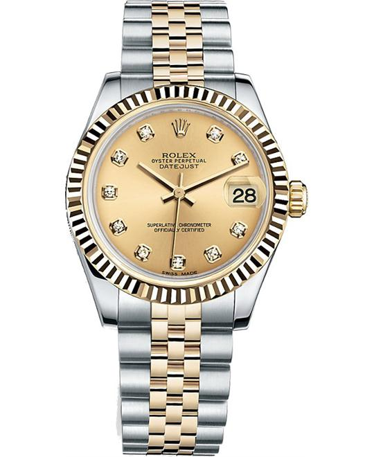 ROLEX OYSTER PERPETUAL 178273 DATEJUST 31