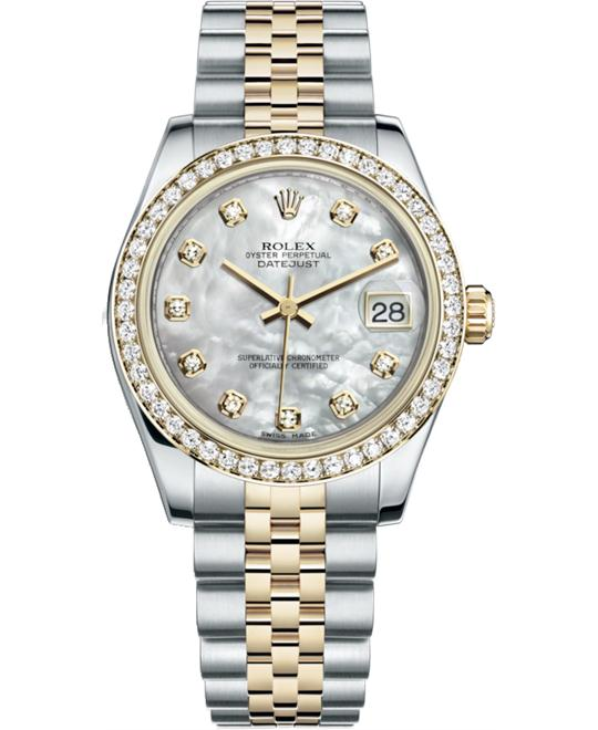 ROLEX OYSTER PERPETUAL 178383-0008 WATCH 31