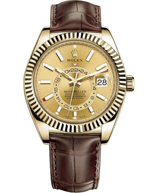 ROLEX OYSTER PERPETUAL 326138-0006 SKY-DWELLER 42