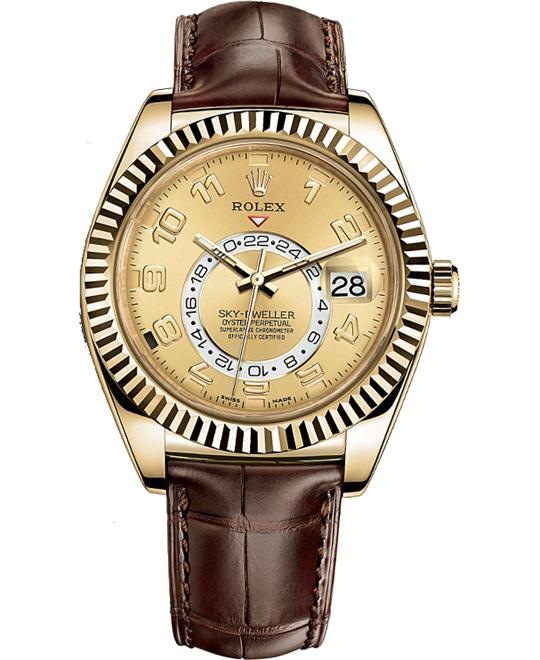 ROLEX OYSTER PERPETUAL 326138 SKY-DWELLER 42