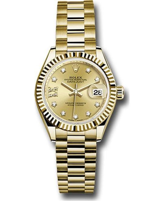ROLEX OYSTER PERPETUAL 279178-0013 WATCH 28