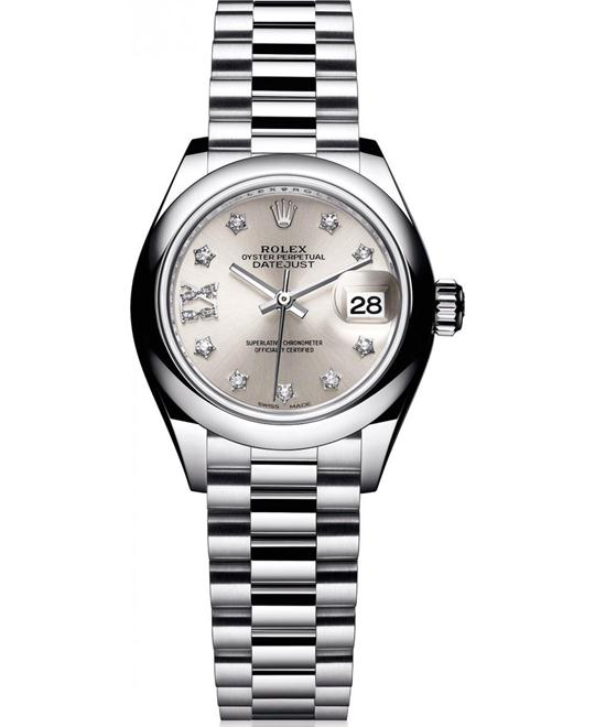 ROLEX OYSTER PERPETUAL 279166-0001 WATCH 28