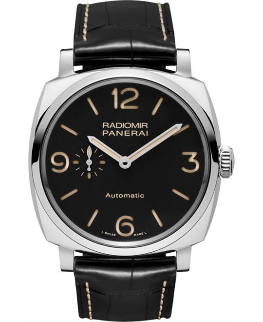 Panerai Radiomir 1940 PAM00572 Black Dial Men's Watch 45mm
