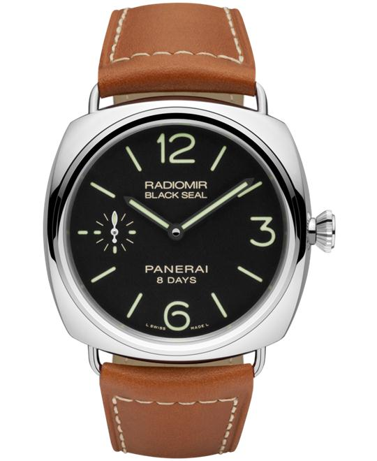 Panerai Radiomir PAM00609 Brown Leather Strap 45mm