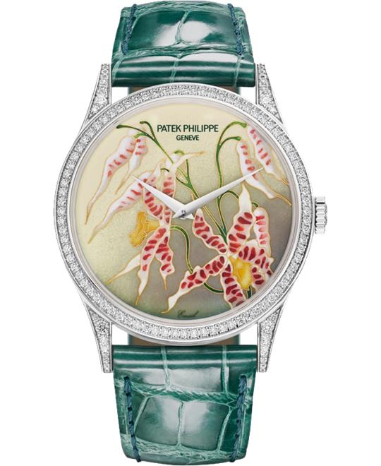 Patek Philippe 5077-100G-032 Orchids Watch 27.5mm