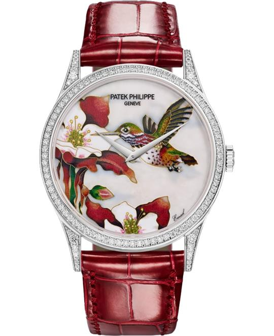 Patek Philippe 5077-100G-033 Hummingbirds Watch 27.5mm