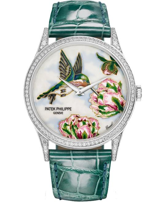 Patek Philippe /5077-100G-042 Hummingbirds Watch 27.5mm