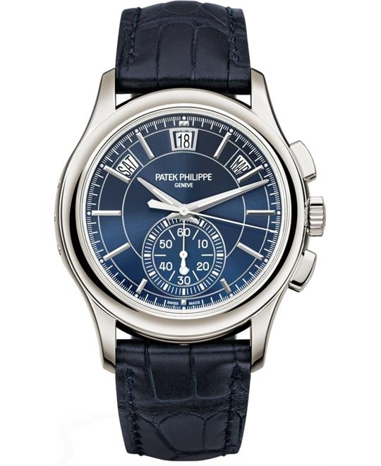 Patek Philippe Complications Blue Platinum Watch 42mm