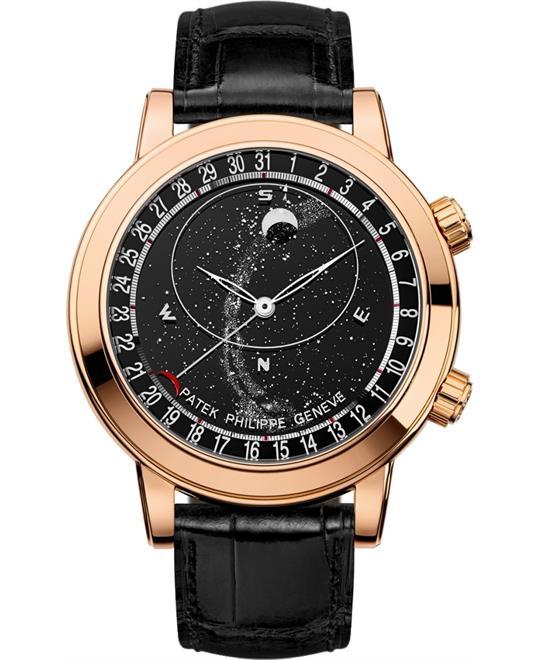 đồng hồ phương trình thời gian Patek Philippe Grand 6102R-001 Complications Watch 44mm