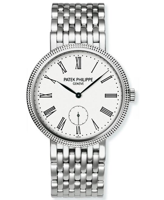 Patek Philippe 7119-1G-010 Ladies' 18k White Gold Bracelet Black 31mm