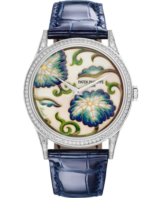 Patek Philippe Orchids  5077-100G-034 Watch 27.5mm