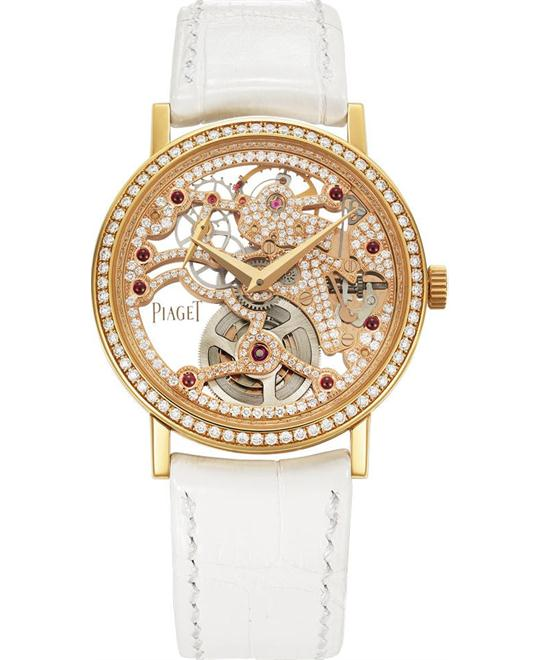 PIAGET ALTIPLANO GEM-SET SKELETON G0A38121 34MM
