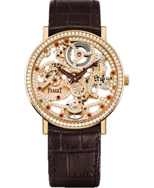 đồng hồ kim cương Piaget Altiplano Skeleton Diamonds G0A39125 38mm'