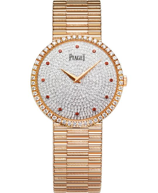 Piaget Traditional Brown Garnet G0A37048 34mm